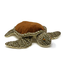 "Load image into Gallery viewer, Turtle Tracks: Storybook & ""Tilli"" Turtle Large Plush Toy (2 pieces) in Gift Box"