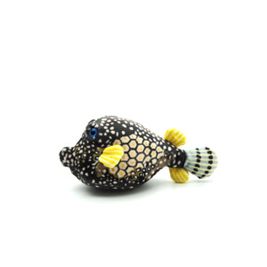 "Turtle Trips: ""Dot"" Boxfish Plush Toy"