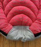 Toddler Nest - pink stripe