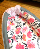 Baby Nest -Pink Floral