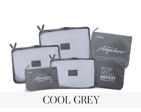 NAELOFAR TRAVEL SET - COOL GREY