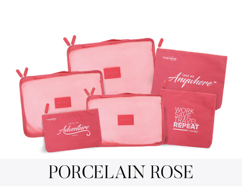 NAELOFAR TRAVEL SET - PORCELAIN ROSE