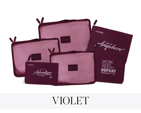 NAELOFAR TRAVEL SET - VIOLET