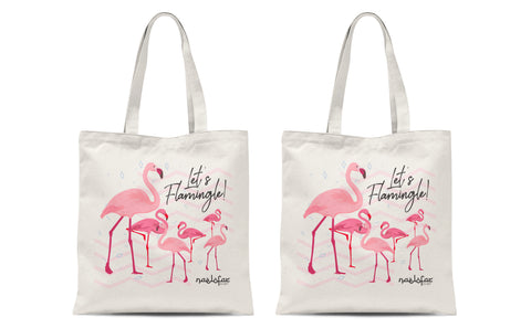 FLAMINGO MERCHANDISE - TOTE BAG (2 pcs)