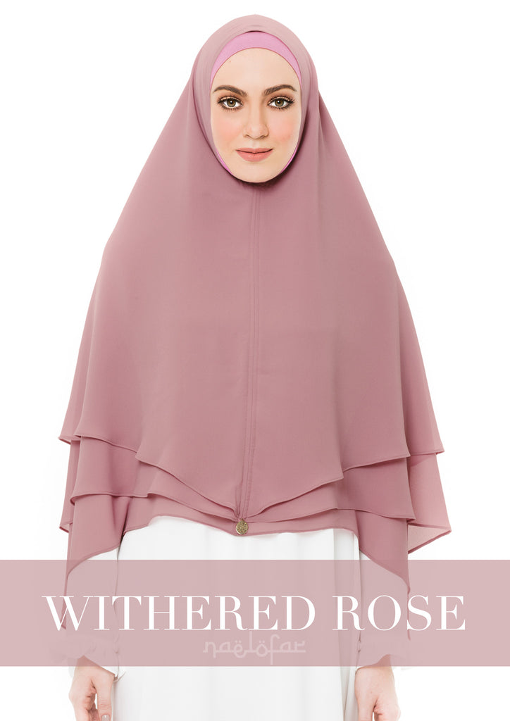 KHIMAR AISYA - WITHERED ROSE