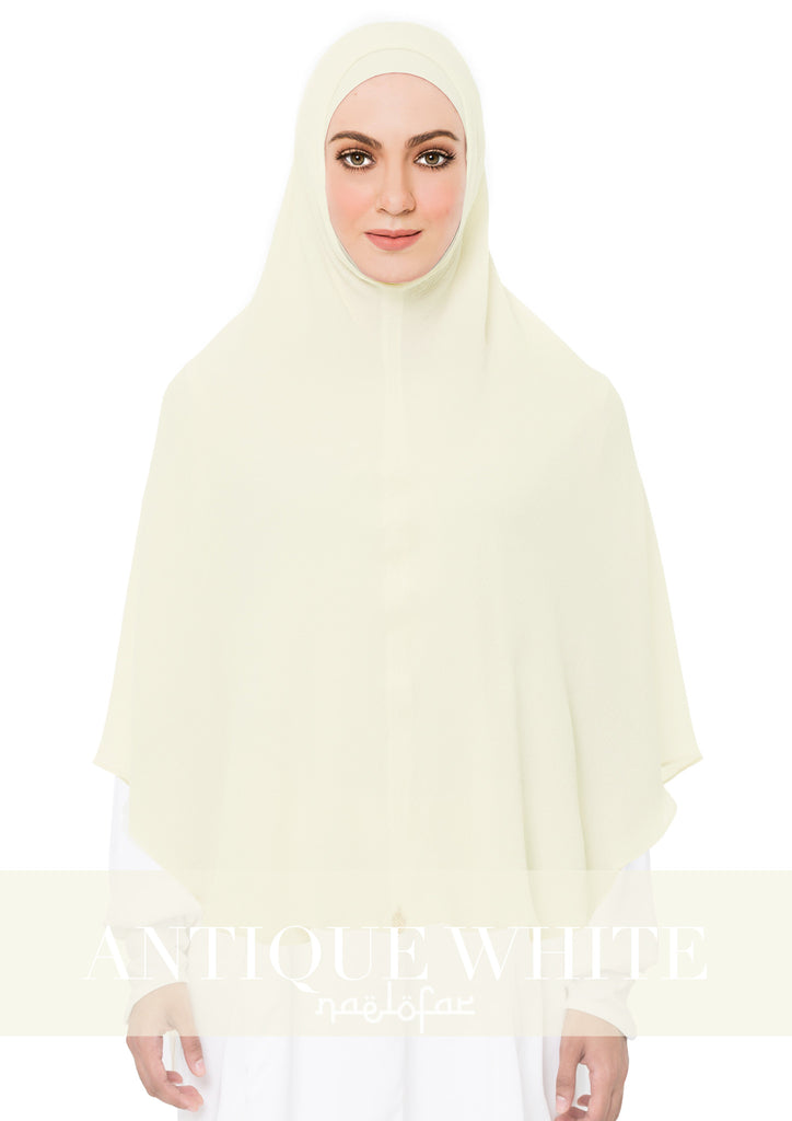KHIMAR MARYAM - ANTIQUE WHITE