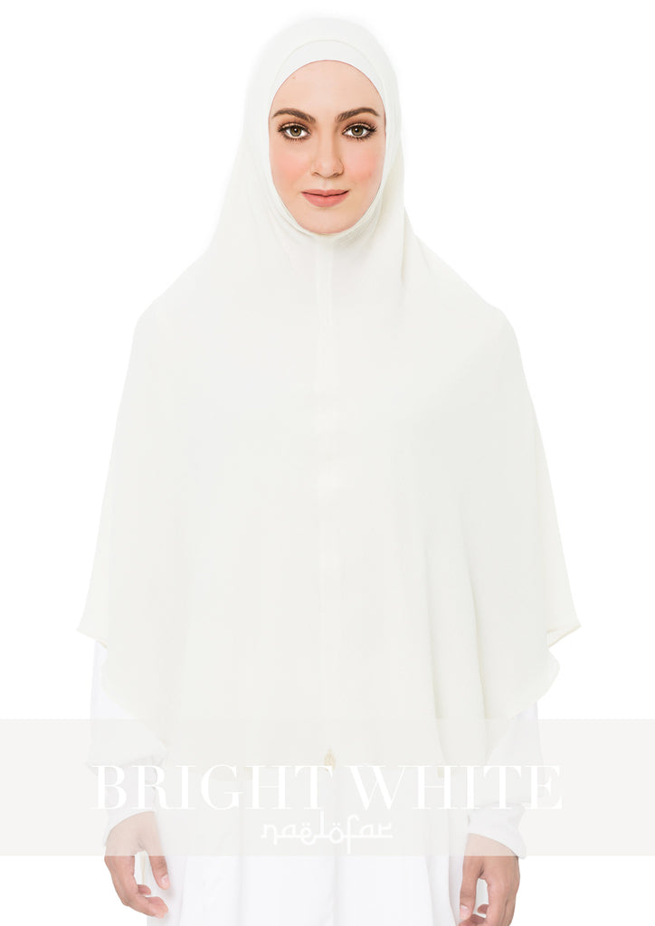 KHIMAR MARYAM - BRIGHT WHITE