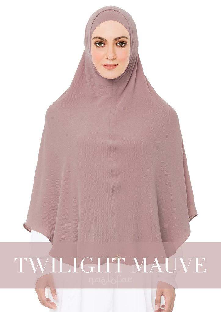 KHIMAR MARYAM - TWILIGHT MAUVE