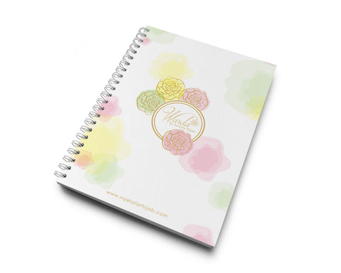 MERCHANDISE - NOTE BOOK - LADY WARDA