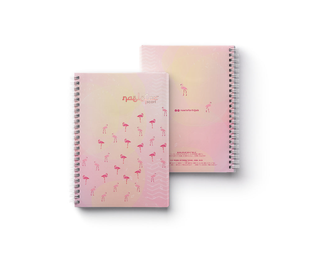 FLAMINGO MERCHANDISE - NOTE BOOK