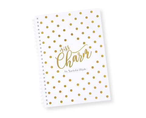 MERCHANDISE - NOTE BOOK - MISS CHARM