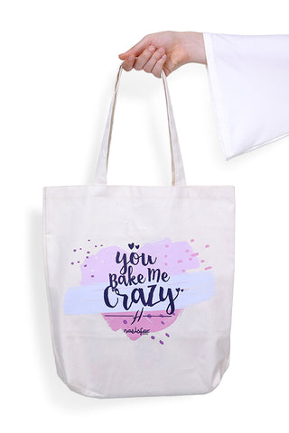 HELENA MERCHANDISE - TOTE BAG - BAKE ME CRAZY