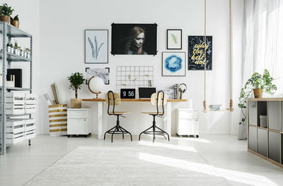 Creating a home office space