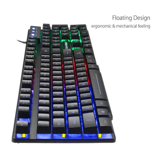 T6 Rainbow Backlight Keyboard