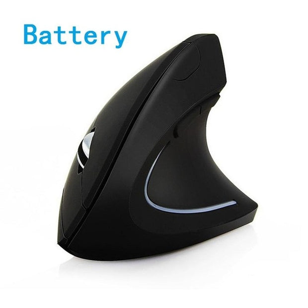 Wireless Left-Handed Vertical Mouse