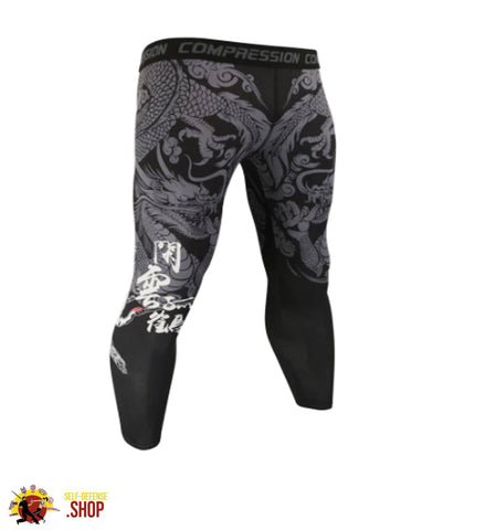 Image of MMA Compression Tights A-3