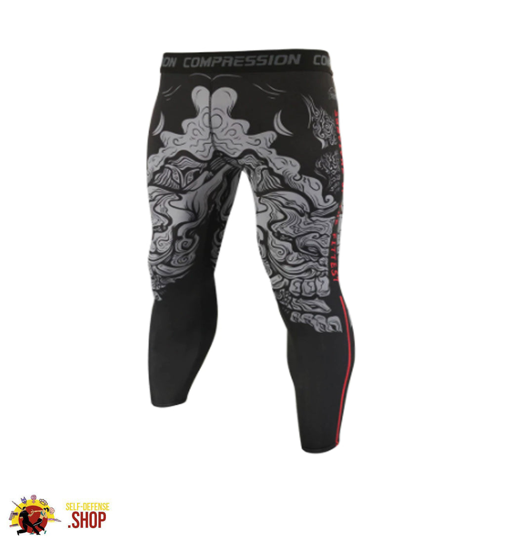 MMA Compression Tights A-4