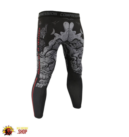 Image of MMA Compression Tights A-4