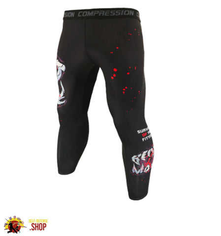 Image of MMA Compression Tights A-6