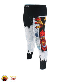 MMA Compression Pants B-6