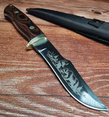 Image of Straight Knife B-8