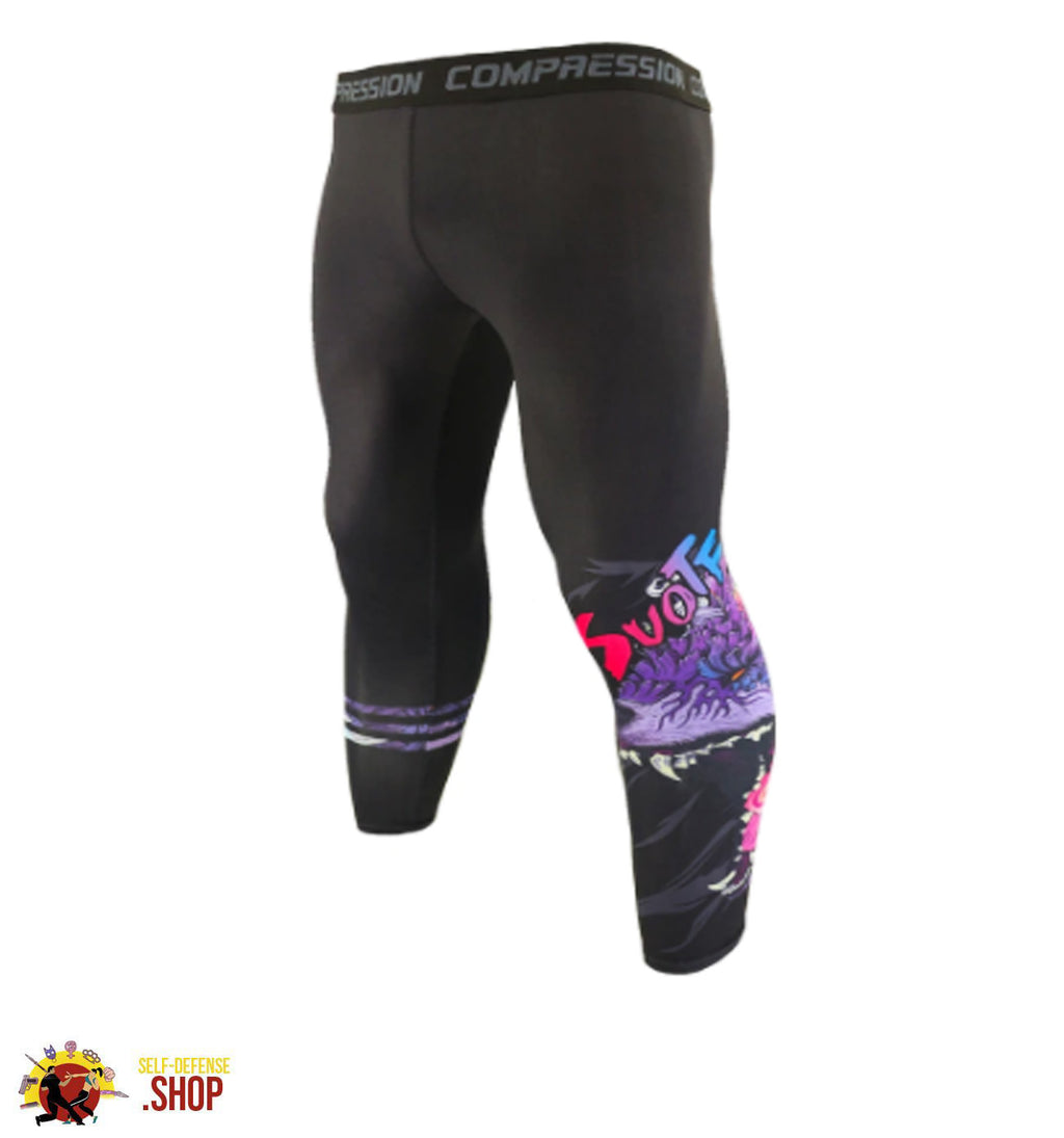 MMA Compression Tights A-7