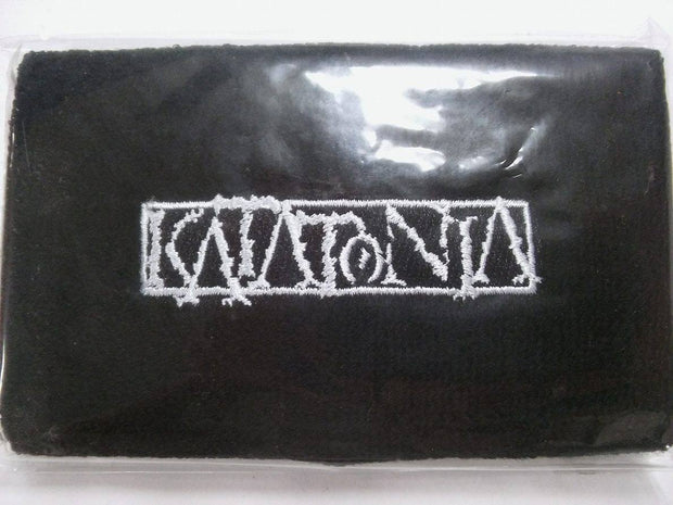 KATATONIA Embroidered Logo Wristband