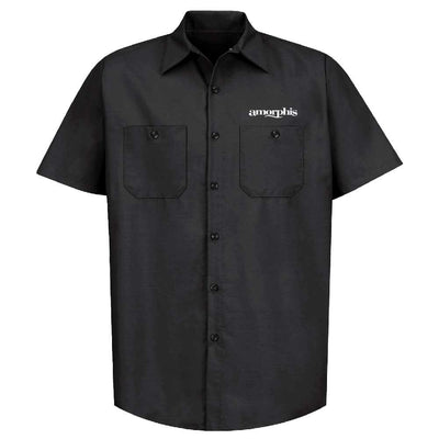 AMORPHIS Queen Of Time Black Work Shirt