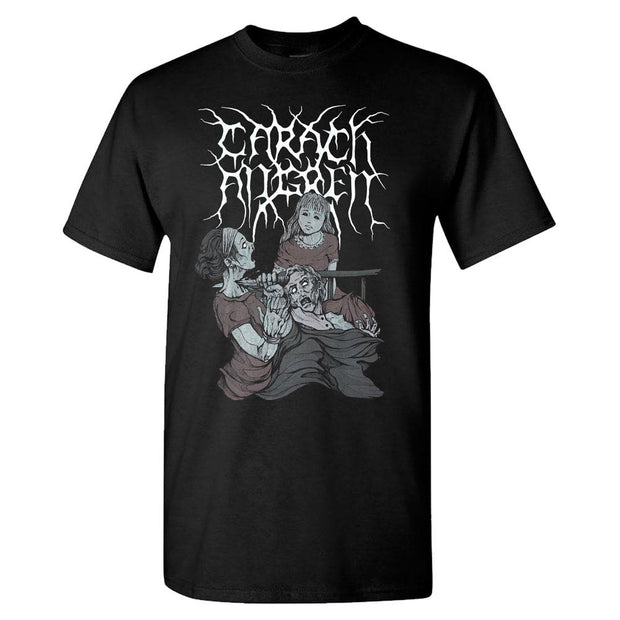 CARACH ANGREN Neck Stab Pitch Black Box T-Shirt