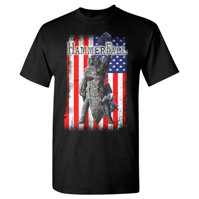 HAMMERFALL Rebuilt To Tour USA Black T-Shirt