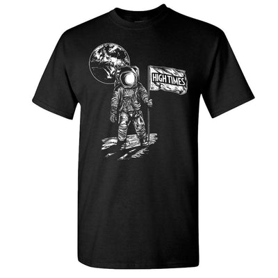 HIGH TIMES Moonman Black T-Shirt-SM