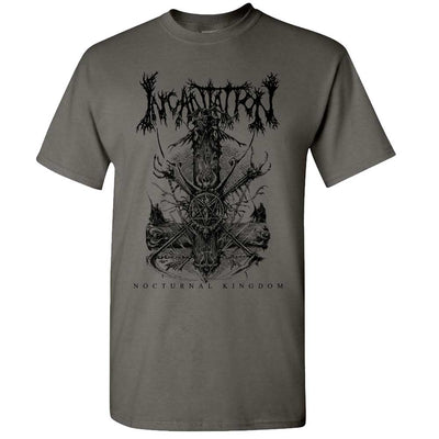 INCANTATION Nocturnal Kingdom Tour 2019 T-Shirt