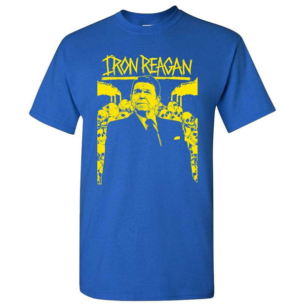 IRON REAGAN Ronnie/IR Blue T-Shirt