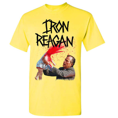IRON REAGAN Your Kids an Asshole Yellow T-Shirt