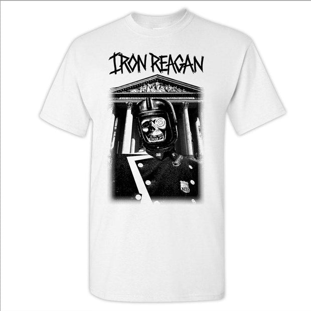 IRON REAGAN Rewind Black Ink T-Shirt
