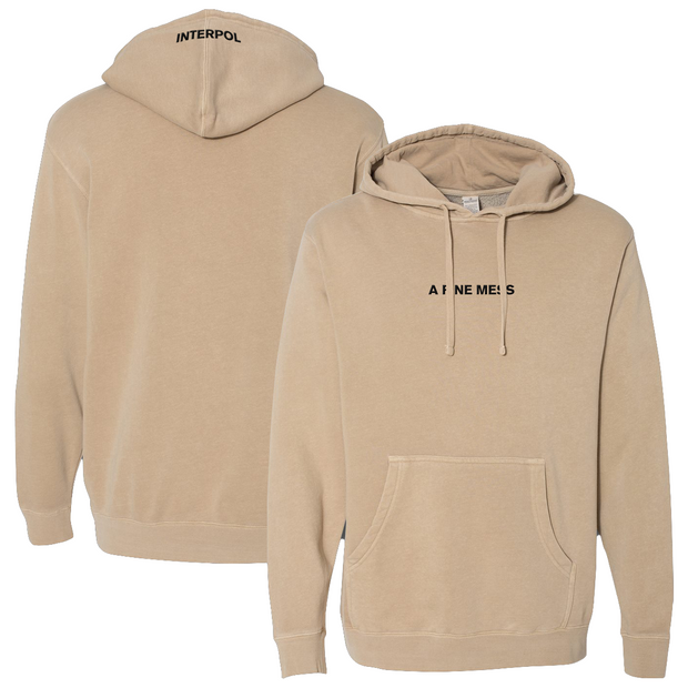 INTERPOL A Fine Mess Sand Pullover Hoodie