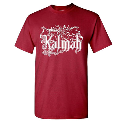 KALMAH Seventh Swamphony Garnet T-Shirt