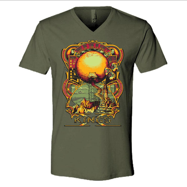KING'S X Out Of The Planet V-Neck T-Shirt