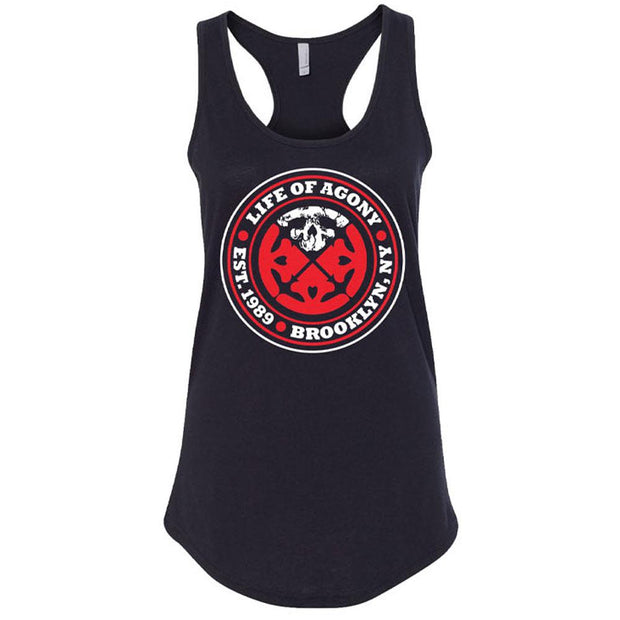 LIFE OF AGONY Est. 1989 Ladies Tank