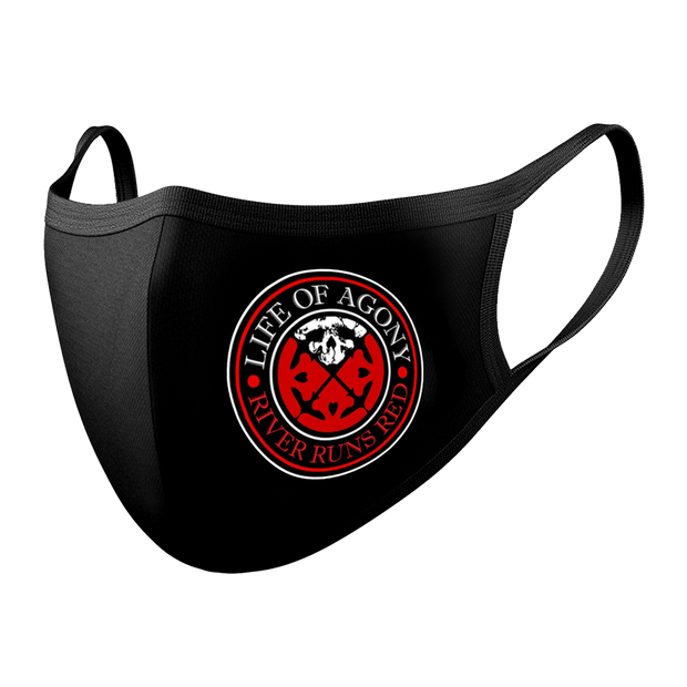 LIFE OF AGONY Logo Mask