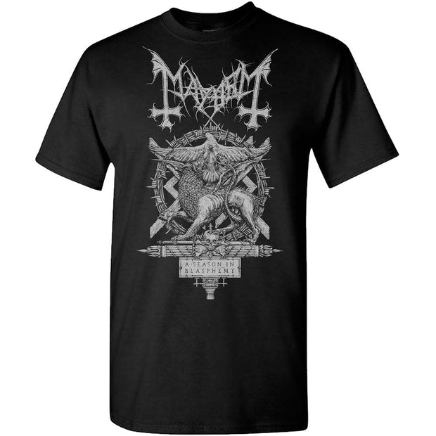 MAYHEM A Season of Blasphemy T-Shirt