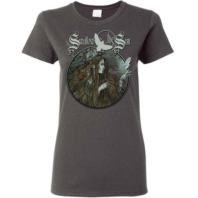 SWALLOW THE SUN Queen With The Bird Ladies T-Shirt