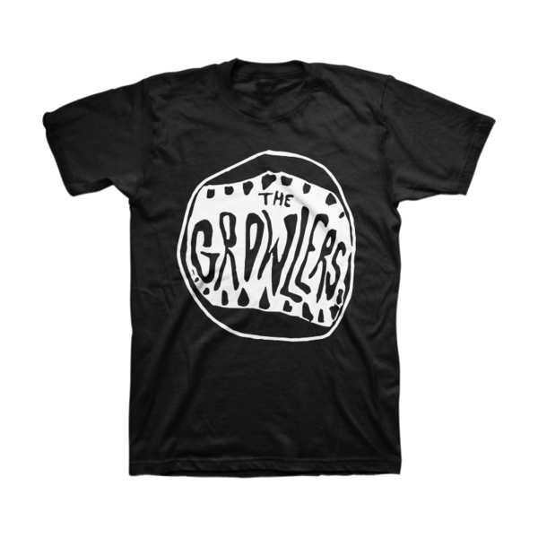 THE GROWLERS Classic Mouth Logo T-Shirt