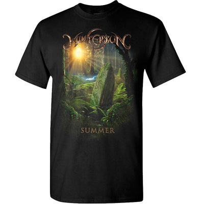 WINTERSUN Summer You Are the Source Black T-Shirt