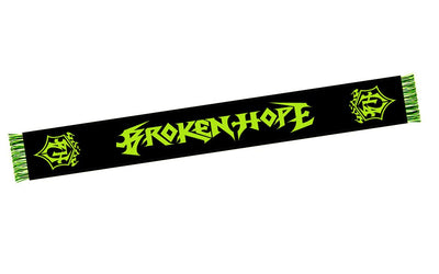 BROKEN HOPE New Logo Scarf