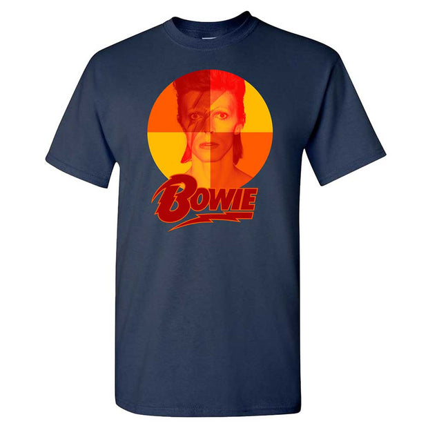 DAVID BOWIE Aladdin Quadrant Orange T-Shirt