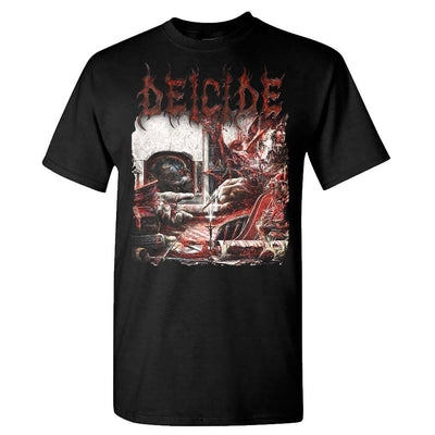 DEICIDE Overtures Of Blasphemy Album Cover Black T-Shirt
