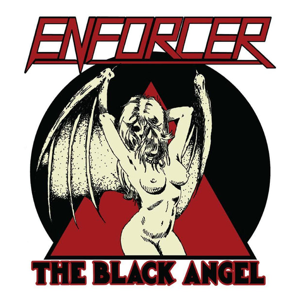ENFORCER The Black Angel 4X4 Sticker