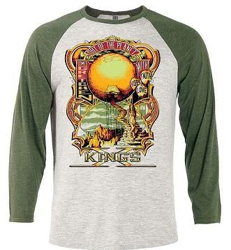 KING'S X Out Of The Planet Raglan