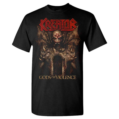 KREATOR Gods of Violence US 2017 Tour T-Shirt